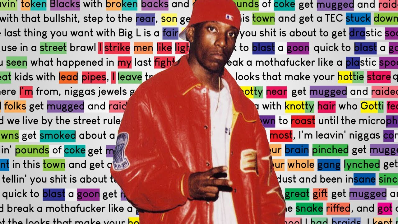 Download Big L - 7 Minute Freestyle | Rhymes Highlighted