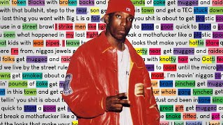 Big L - 7 Minute Freestyle | Rhymes Highlighted