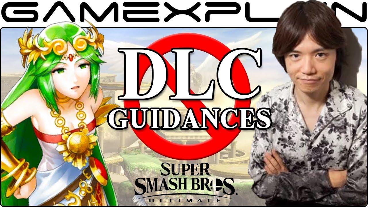 Smash Bros  Ultimate DLC Fighters Won't Receive Custom Palutena's