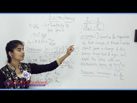Electrostatics Part 1 Physics Board video lecture By Rao IIT Academy