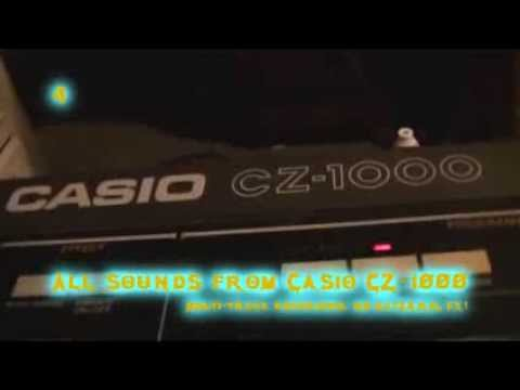 Casio CZ-1000 - Another Demo