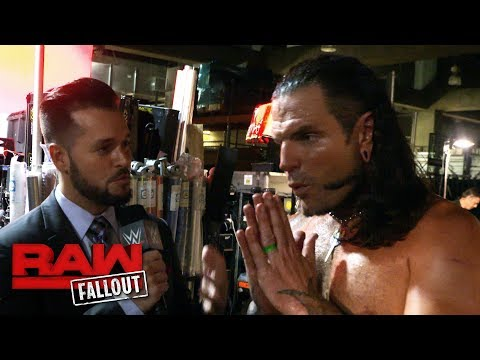 Jeff Hardy looks to become a five-time Intercontinental Champion: Raw Fallout, Aug. 28, 2017