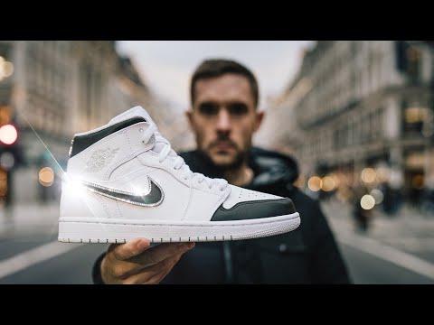 I Put $30,000 Of Diamonds And Gold Into Air Jordan Sneakers