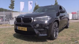 BMW X5 M 2016 Start Up, Exhaust, In Depth Review Interior Exterior