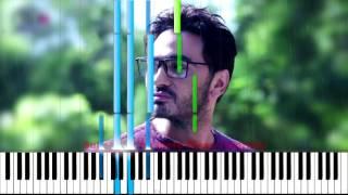 Tamer hosny kol Haga Bena Piano تعليم عزف كل حاجة بينا من فيلم اهواك تامر حسني بيانو