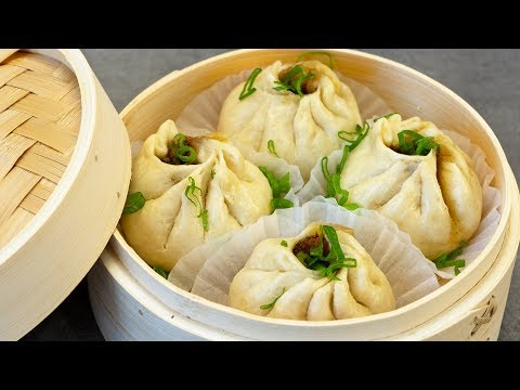 Easy Steamed Buns Recipe