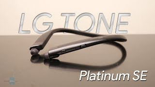 LG TONE Platinum SE hands-on: Comfort and performance at a premium