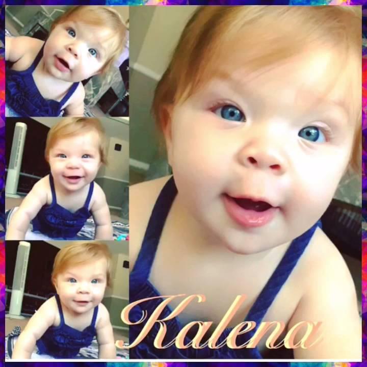 Happy 1st Birthday Kalena Grace!