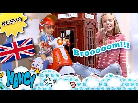 Nancy Moto En Londres Nueva La Decoramos Con Pegatinas Y Vamos A Una Pasarela De Moda Youtube