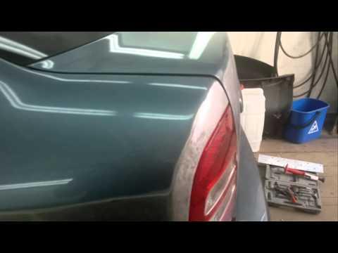 ремонт багажника и крыла Skoda Octavia