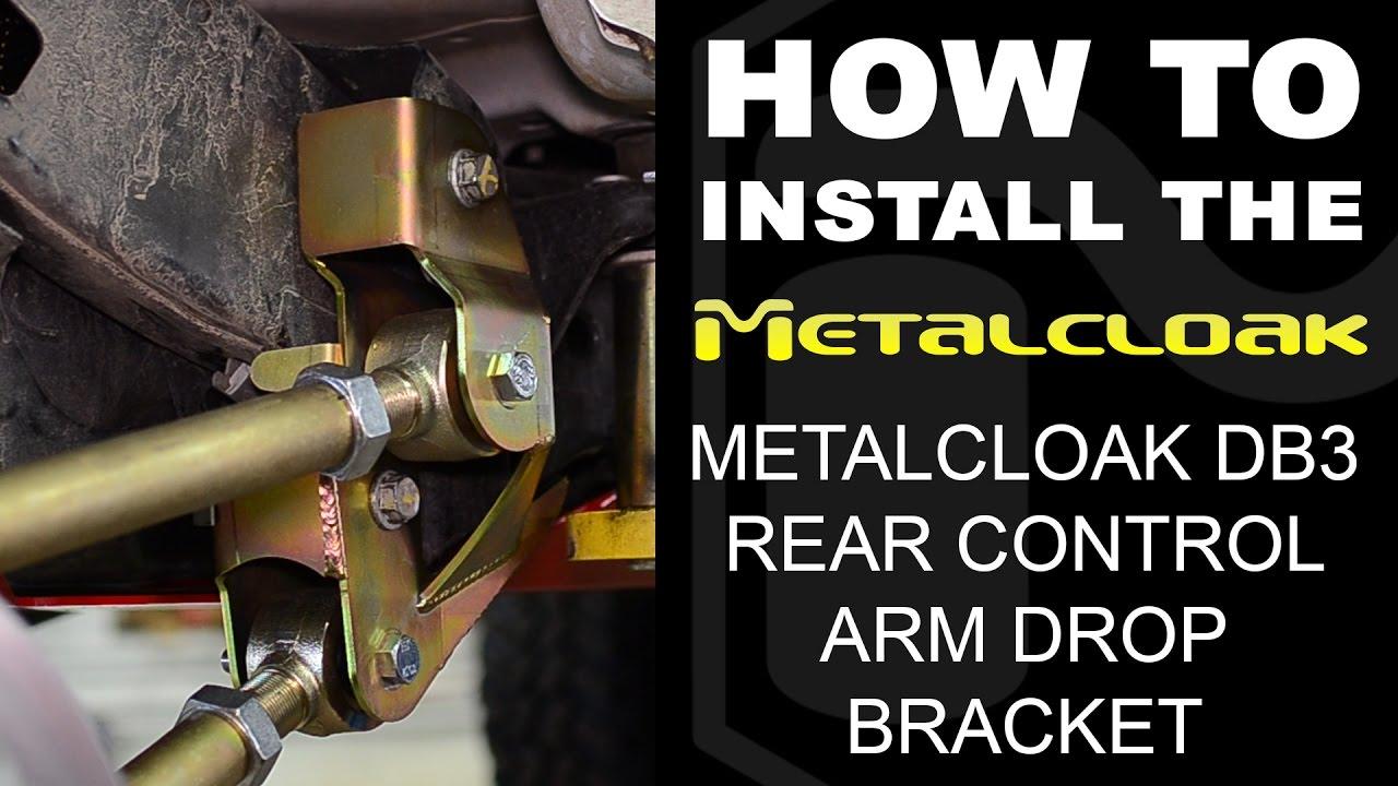"How to Install: JK ""DB3"" Rear Drop Bracket - YouTube"