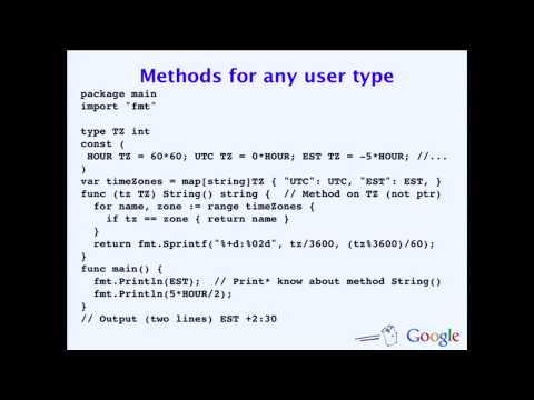 The Go Programming Language - YouTube