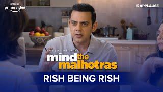 The Ultimate Rish Compilation   Mind The Malhotras   Cyrus Sahukar   Amazon Prime Video