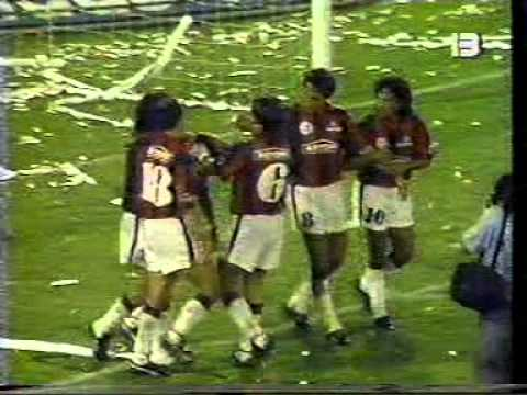 San Lorenzo 3 vs Coquimbo 0 - 1992 - Copa Libertadores