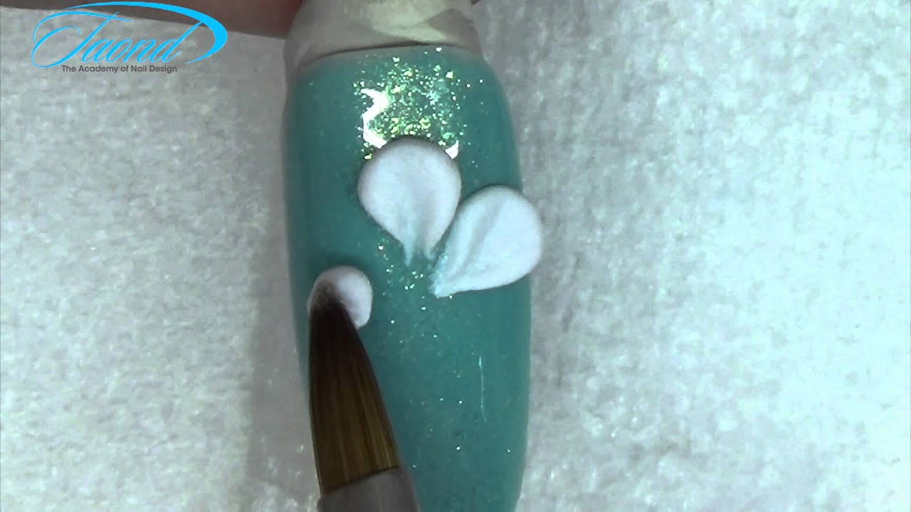 The Academy Of Nail Design Basic Flower Petals Youtube Youtube
