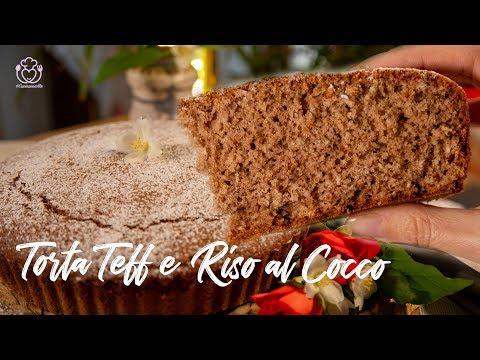 Torta Con Farina Di Teff E Riso Al Cocco Senza Glutine E Addensanti, Ricetta Con Farine Naturali