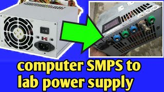 ATX Bench Power Supply    Computer Power Supply convert to a lab bench power supply