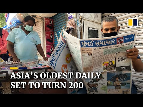 Asia's oldest newspaper endures wars, bankruptcy and pandemics for nearly 200 years