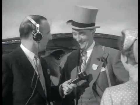 Brian Johnston in 'Derby Day' (1952)