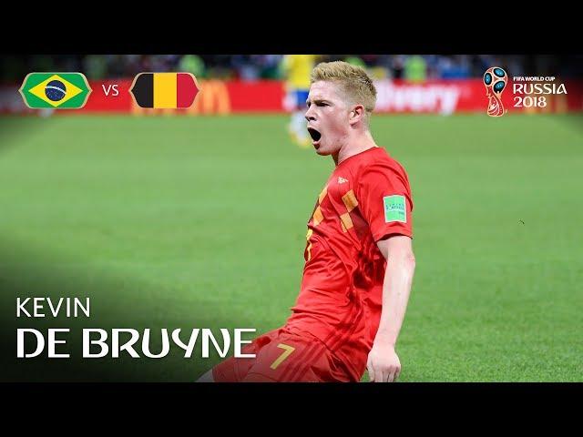 Kevin DE BRUYNE Goal – Brazil v Belgium  – MATCH 58