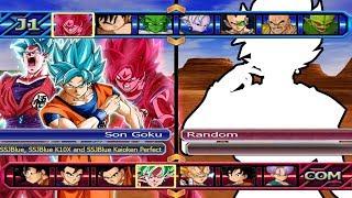 Baixar Goku SSJBlue, SSJBlue Kaioken10X and Kaioken Definitive VS Five Random | DBZ BT3