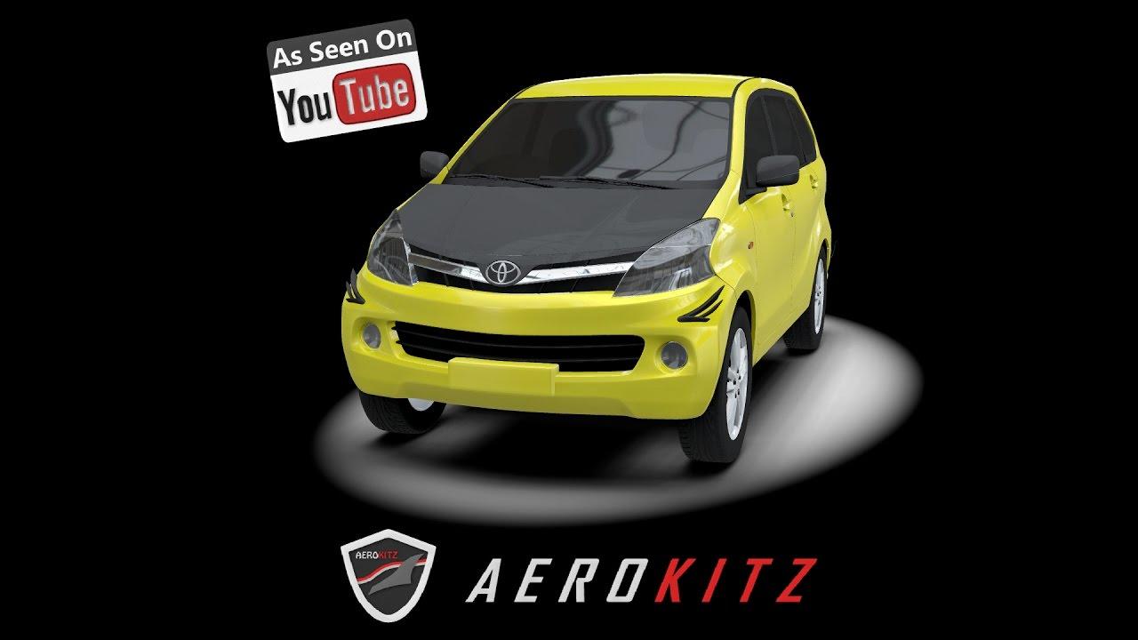 Aksesoris Grand New Avanza 2017 Harga Veloz 2016 Aerokitz Modifikasi All Toyota Sporty Style Youtube