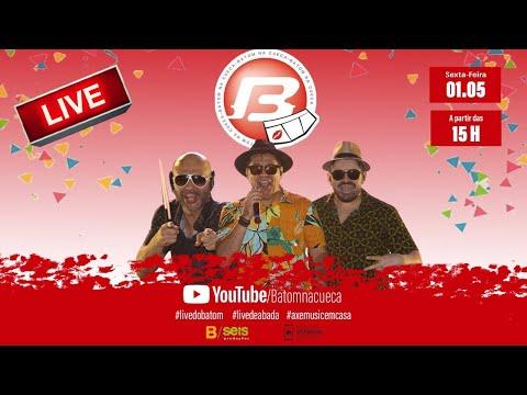 LIVE BATOM NA CUECA | 01.05 (sexta) a partir das 15h
