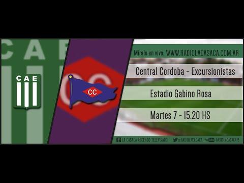 Central Cordoba vs Excursionistas - Radio la Casaca - Fecha 18