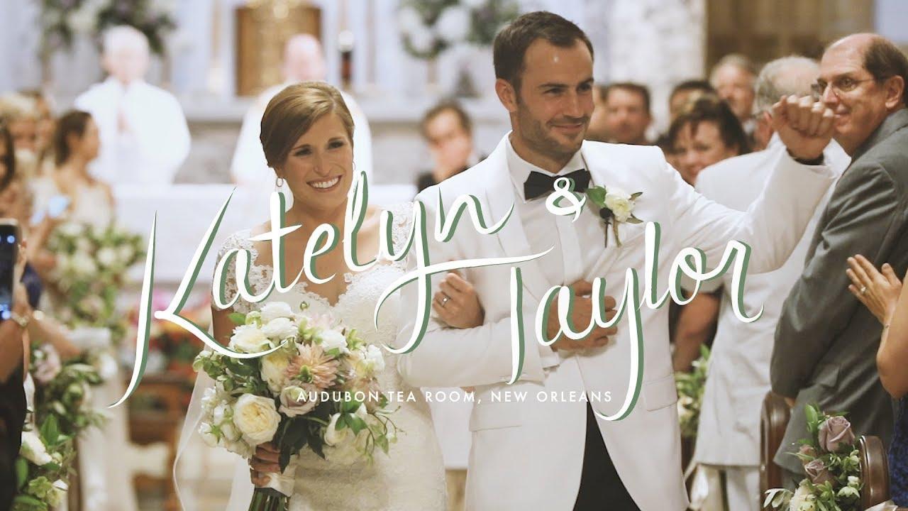 audubon tea room new orleans wedding video by bride film