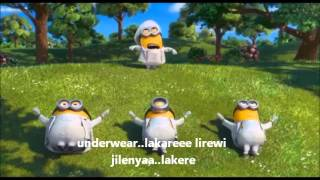 Minions I swear  (Lyrics)(HD)