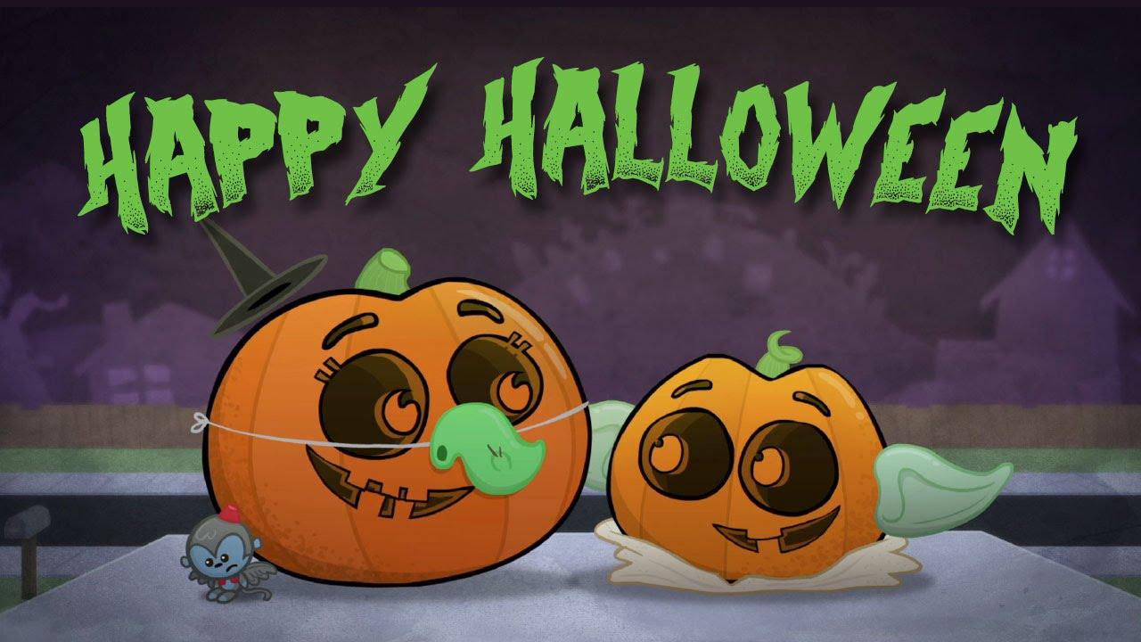 happy halloween message - youtube