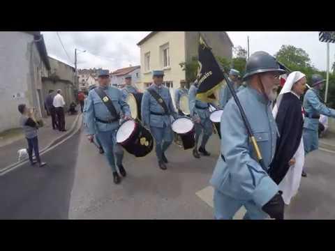 Centenaire de la Bataille de Verdun - Retour à Miribel