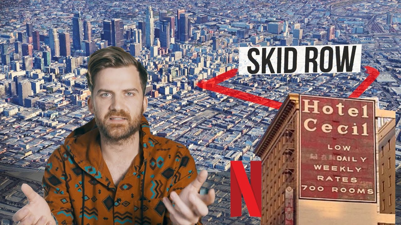 Netflix Was Wrong!! The Cecil Hotel isn't Haunted (Skid Row, Explained)