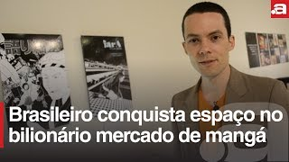 Brasileiro conquista espaço no bilionário mercado de mangá japonês ...