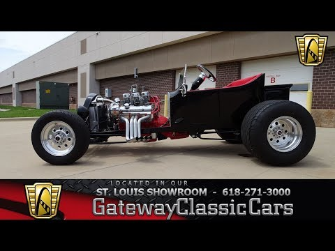 1921 Ford T Bucket Stock #7679 Gateway Classic Cars St. Louis Showroom