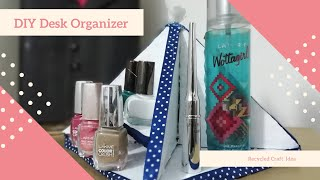 Quick and Easy Hacks For Room Decoration || DIY Desk Organizer  || Cardboard Recycled craft idea  !!