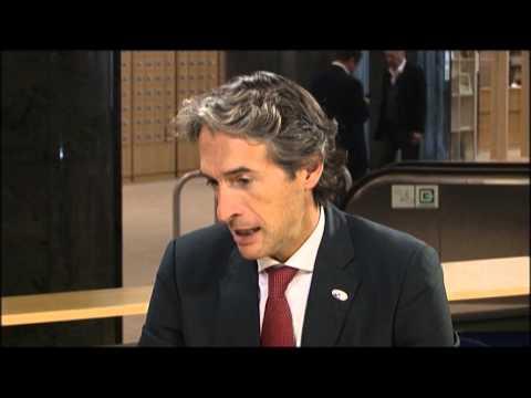 Interview Mayor of Santander, European City of Sport 2014.