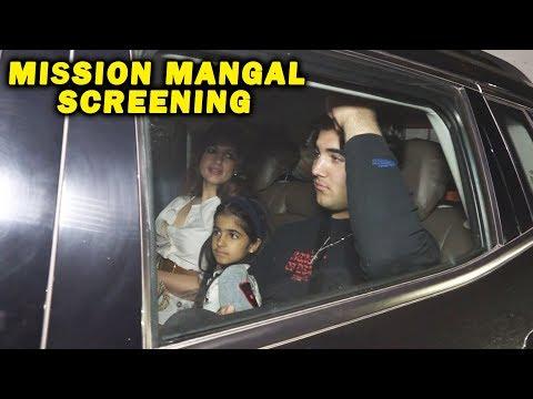 akshay-kumar-family-at-mission-mangal-special-screening
