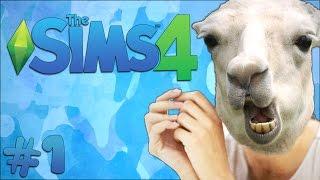 JE MOEDER IS EEN LAMA! - Sims 4 #1
