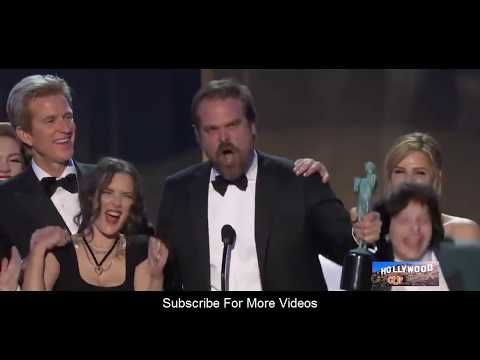 Stranger Things (Best Cast) Speech  at The 23rd Annual Screen Actors Guild Awards 2017