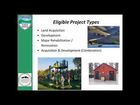 2018 Land and Water Conservation Fund Grant Program Technical Assistance Webinar
