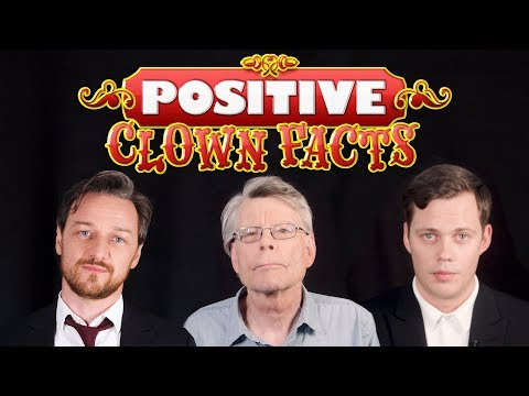 Stephen King And 'It: Chapter Two' Stars Offer 'Positive Clown Facts'