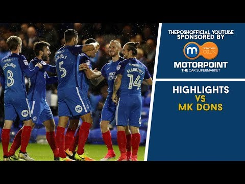 HIGHLIGHTS | The Posh vs MK Dons