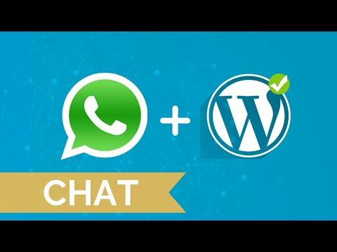 Cómo Poner Chat De WhatsApp Gratis En WordPress 2018