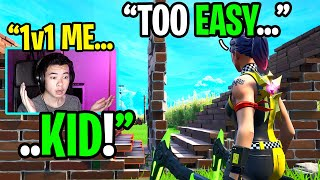 I challenged the last player to a 1v1 and it worked... (shocking)