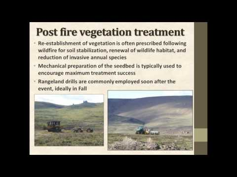 Post-fire drill seeding on archaeological resources: A case study from SW Idaho