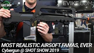 Most Realistic Airsoft FAMAS, EVER + More from Cybergun - Shot Show 2019