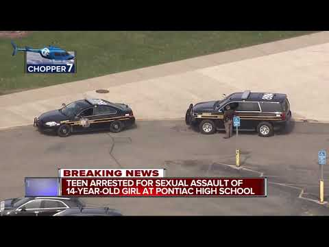 15-year-old facing charges in alleged rape at Pontiac High School