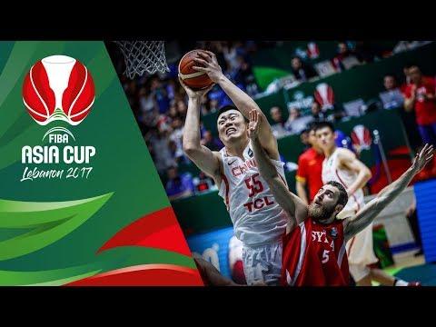 China v Syria - Highlights - QF-Qualifiers - FIBA Asia Cup 2017