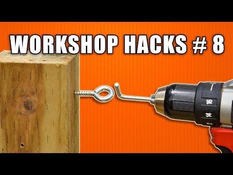 Workshop Hacks Part 8: Woodworking Tips and Tricks